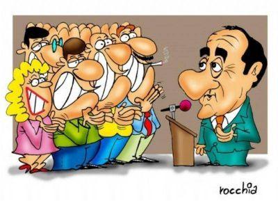 Scioli con intendentes bonaerenses: