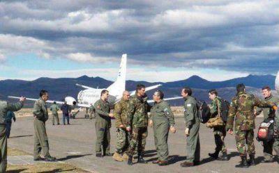 Loncopué fue testigo del arribo de naves de la Fuerza Aérea Argentina