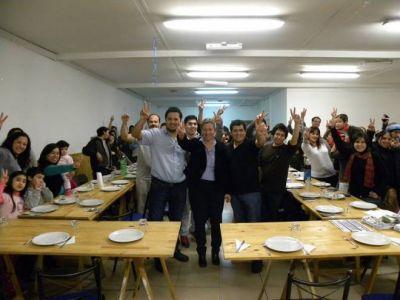 Martini comparte por separado la campaña con Mauro Gonzalez y Ramón Chiocconi