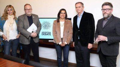 Se reunieron los moderadores de Argentina Debate