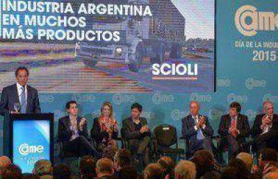 Scioli aseguró que las pymes son el corazón del país y promoverán el liderazgo regional