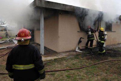 Pico: muri� una ni�a de 9 a�os en un incendio