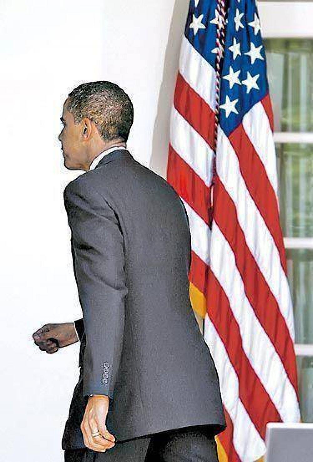 """Obama dijo que no tiene """"el botón"""" para devolver al poder a Zelaya"""