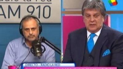 Luis Ventura se volvió a cruzar con Jorge Rial en televisión