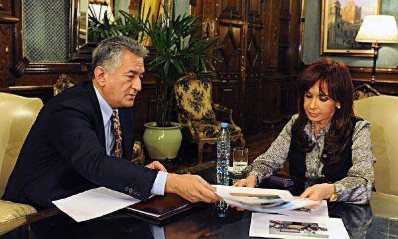 La Presidente recibió a más gobernadores y convocó para la próxima semana a Schiaretti.
