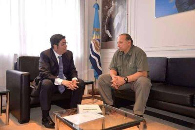 Pablo Bossio se reunió con Sergio Berni para dotar de nuevas herramientas a la Policía Local