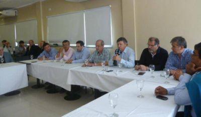 """Peppo e intendentes justicialistas hicieron un llamado a la """"transparencia y paz social"""""""