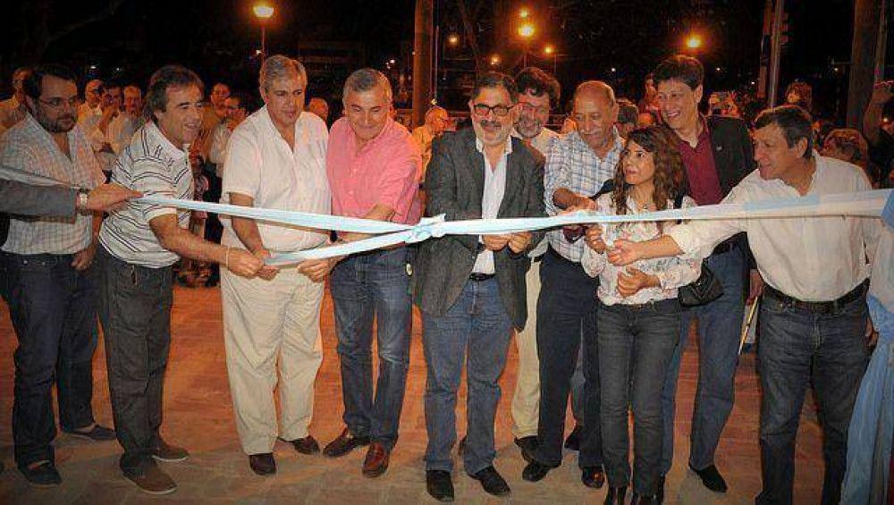 """Jorge dijo que """"la familia artística tiene más espacios para la cultura en Jujuy"""""""