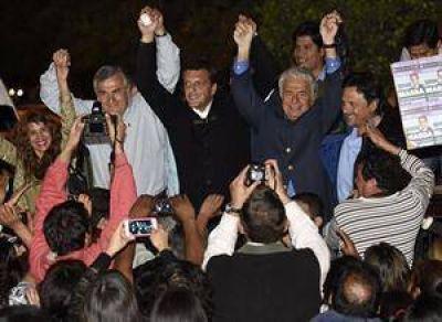 Massa y De la Sota fueron a Jujuy para apoyar al radical Morales