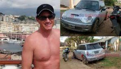Encontraron un auto de Stefanini, el financista desaparecido hace un año