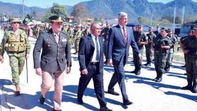 Zottos ratificó la reactivación del Ramal C 15 en el aniversario de Salvador Mazza