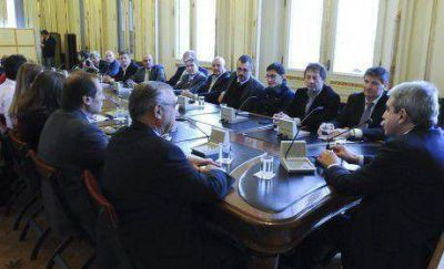 Respaldo a An�bal Fern�ndez de intendentes y candidatos de la 4ta Secci�n Electoral