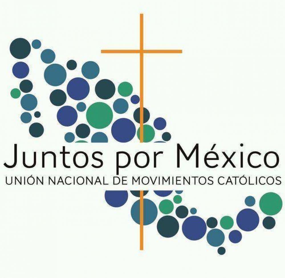 Más de 70 movimientos católicos se reunirán en 'Juntos por México', un evento en favor de la vida, la familia y el compromiso social
