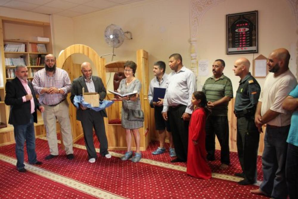 España: La comunidad islámica de Alfaro inaugura su mezquita en un día de puertas abiertas