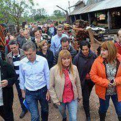 """Macri: """"Venimos a trabajar y vamos a estar acá durante los próximos 4 años"""""""