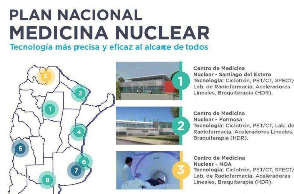 Proyectan la instalación de un Centro de Medicina Nuclear en la provincia