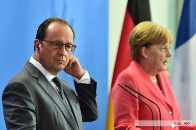 Hollande y Merkel acordaron una iniciativa común para la recepción de refugiados en Europa