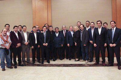 Aníbal se reunió con candidatos a intendentes de la primera sección