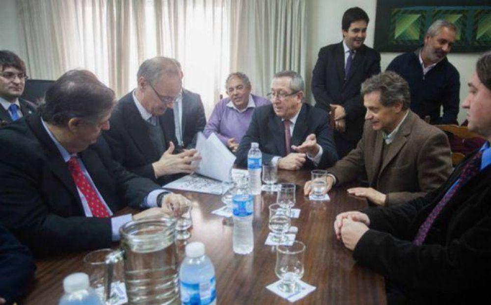 Pulti feliz con la llegada de Medicina que comenzaría dictarse en el 2016 en Mar del Plata