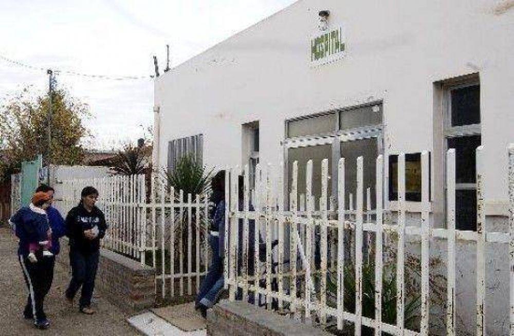 Empiezan la refacción del hospital de Fernández Oro