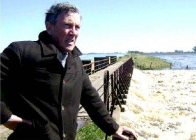 El Intendente de Pila Gustavo Walker quiere que Chascomús reciba parte del exceso hídrico