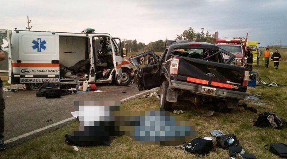 Tragedia Ruta 12: Murió uno de los gualeguaychuenses internados