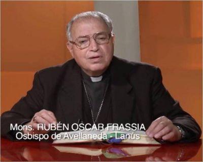 """Mons. Frassia llama a """"vivir en la verdad y caminar en lo esencial"""""""