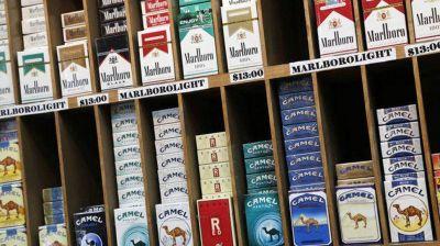 Por tercera vez en el año, vuelven a aumentar los cigarillos