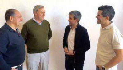 Reunión de trabajo entre algunos referentes del Frente Cambiemos