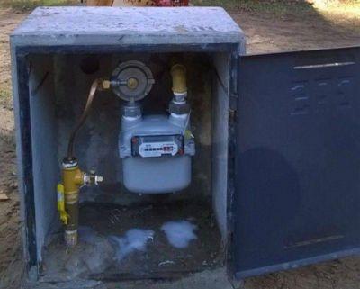 Reclamo por la obra de gas en las localidades del sur