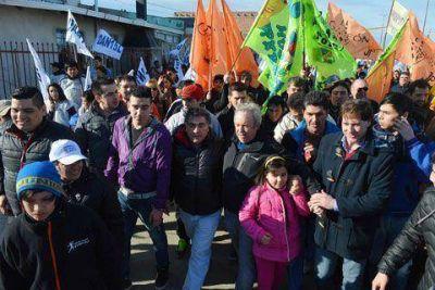 """Peralta: """"nuestra propuesta es de cercanía con la gente"""""""
