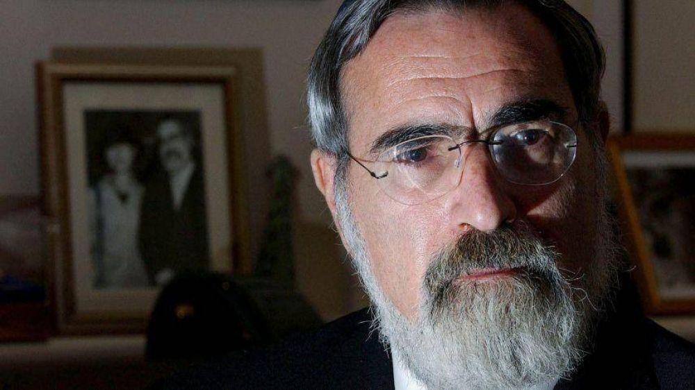 """Ex gran rabino Sacks: """"Generosidad colectiva mostrará que Europa aprendió la lección"""""""