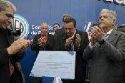 De Vido inauguró el simulador de la Central Néstor Kirchner y el Parque de Energía Nuclear