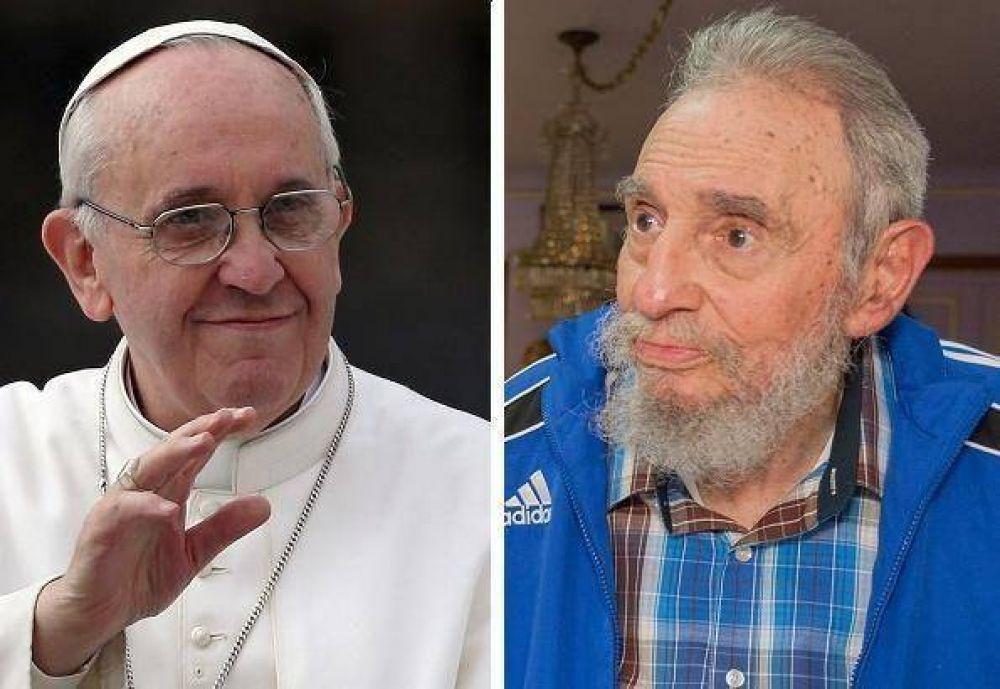 Todo listo para el histórico encuentro entre Francisco y Fidel