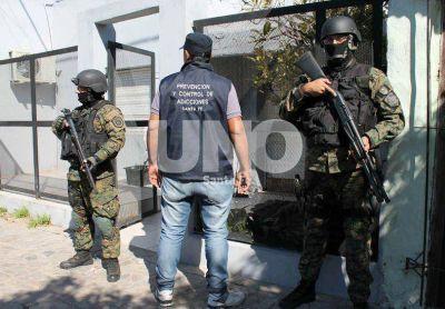Cayó banda narco en un operativo con 13 allanamientos simultáneos en Santa Fe y Gálvez