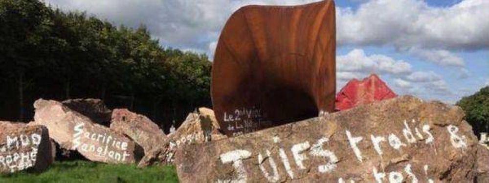 Vandalismo antisemita en Francia