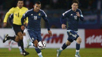 Con la estelar dupla Messi-Tevez, Argentina se probará ante México