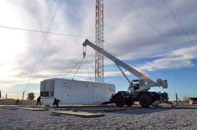 Avanzan las pruebas de la antena de la Televisión Digital Abierta