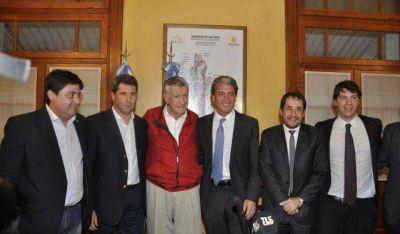 José Scioli elogió a Gioja y la minería en San Juan
