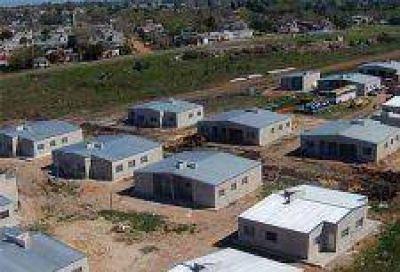 160 Viviendas: Comenzó la instalación de servicios