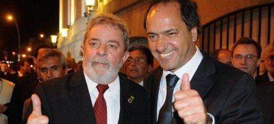 Cristina Kirchner, Daniel Scioli y Lula Da Silva compartirán un acto en el conurbano bonaerense