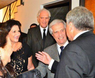 Junto a Tabaré Vázquez, el CJL celebró la llegada de un nuevo año en el calendario judío
