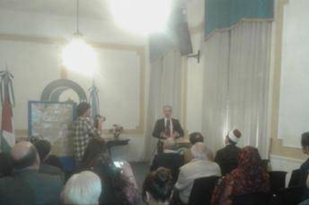 Se realizó la conferencia sobre Jerusalén en el Centro Islámico en Buenos Aires