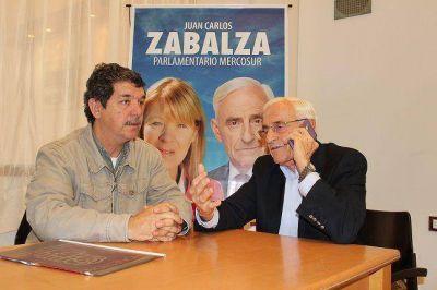 Visita en apoyo a la candidatura de Stolbizer - Gibezzi