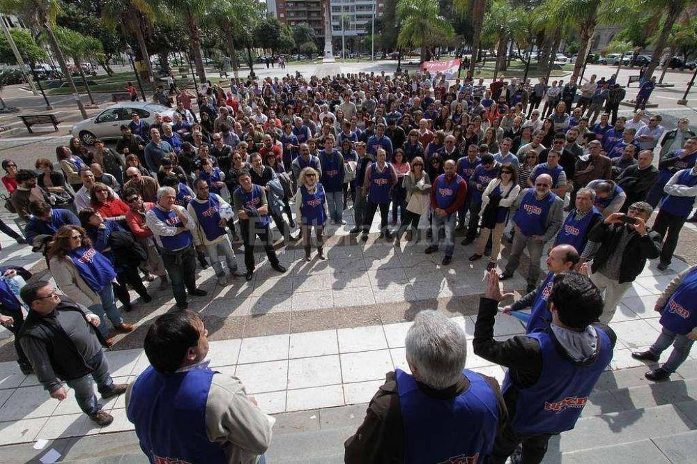 UPCN hará una jornada de protesta que para Galassi es