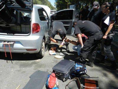 Condenan a cuatro paraguayos por transportar 7 kilos de cocaína