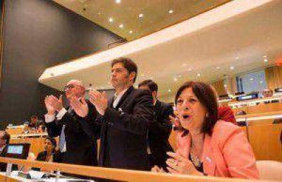 La ONU aprob� la resoluci�n antibuitres que impulsa el Gobierno