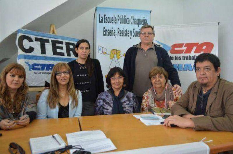 La CTERA destac� la licencia por violencia de g�nero para docentes en el Chaco