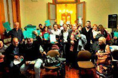 Anses y el Municipio entregaron 97 nuevas jubilaciones