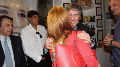 Agustina Kämpfer habló de su cruce con su ex Amado Boudou